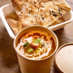 Sopa de Abóbora ao Curry