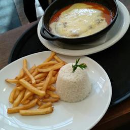 Filet Mignon á Parmegiana