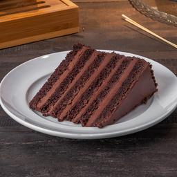 Fatia de Bolo de Chocolate 70%