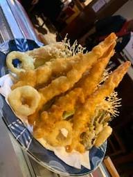 Tempurá de camarão