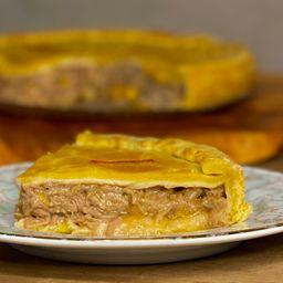 Torta carne louca - quente