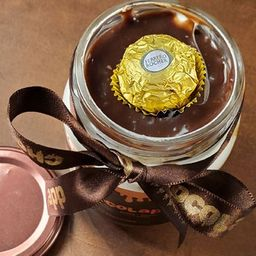Bolo de Pote de Ferrero Rocher