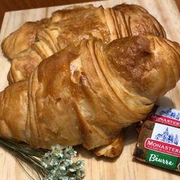 Croissant com Chocolate e Creme de Avelã