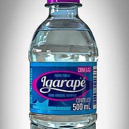 água mineral com gás igarapé