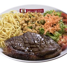 Steak Sal e Brasa + Refri Coca Cola 200ml