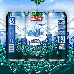 At The Mountains Of Hoppiness - West Coast IPA - Motim