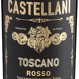 Vinho toscano rosso famiglia castellani