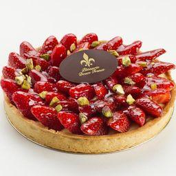 Torta de Morangos (06 Pessoas)