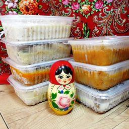 Combo 7: almoços russos (congelado)