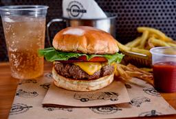 Combo Simples: Burger + Batata Frita + Refri