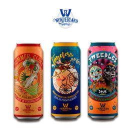 Kit Wonderland Brewery com 3 Latas 473ml