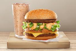 Compre Big Bob e Ganhe Milk Shake P por R$14,90