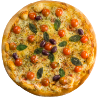 Pizza de Búfala