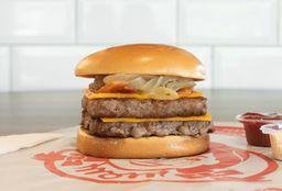Double BBQ Bacon Cheeseburger