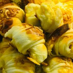 Mini Croissant de Presunto e Queijo Prato - 100g