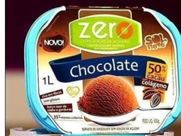 Sorvete Chocolate Zero 1L