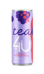 Chá preto hibisco & berry - Tea 4u Danon