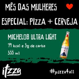 Itzza e Cerveja Michelob
