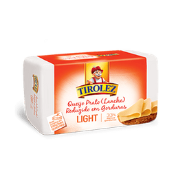 Queijo Prato Light Tirolez (100g)