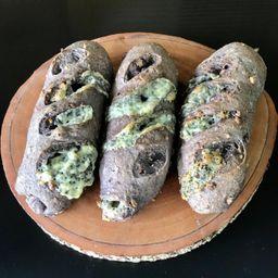 Pão de Nozes e Gorgonzola