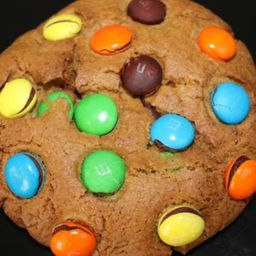 Cookie nutella e m&m's