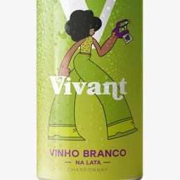 Vivant- Vinho Branco na Lata 269ml