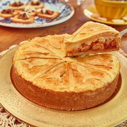 Torta de camarão média 1 kg aprox.