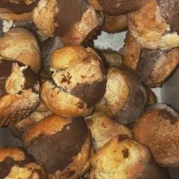 Profiteroles de Sorvete de Chocolate