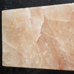 Placa de Sal do Himalaia (30x20x4cm )