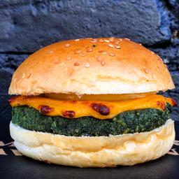 Spirulina Cheese Burger