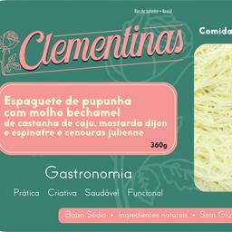 Espaguete de Pupunha com molho Bechamel de Castanha