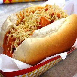 Dois Hotdog Salsicha