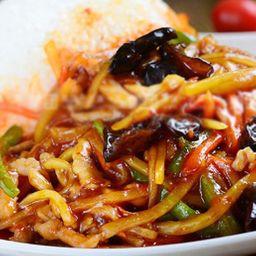 鱼香肉丝饭 Combo 6
