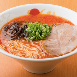 God Fire Tonkotsu / 赤豚骨ラーメン