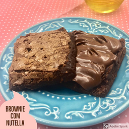 Brownie Com Nutella