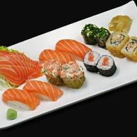 Combinado 01 Sushi E Sashimi Salmão