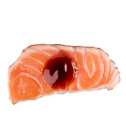 Sashimi Salmão ao Molho de Ostra (5 Peças)