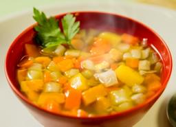 Sopa Desintoxicante De Legumes