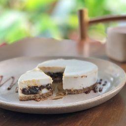 Dulce de Leche Vegan Cheesecake