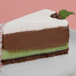 Menta C/ Chocolate -fatia | Torta Dalena
