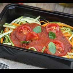 Espaguete de Legumes Frescos