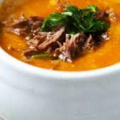 Sopa de Legumes e Carne