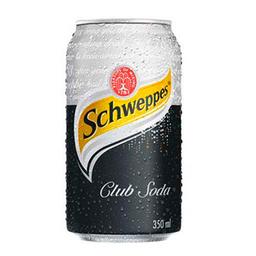 Schweppes Club Soda Light Lata - 350ml