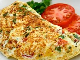 Omelete 5 Ovos