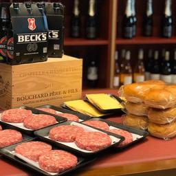 Kit 12 burguer + Becks - BBQ Company