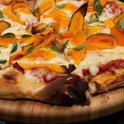 Pizza de Abóbora e Parmesão - Média