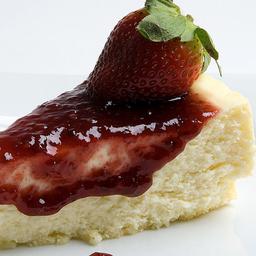 Cheesecake de Frutas Vermelhas Fatia