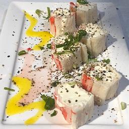 Sushi Especiais de Kani Keijo - 6 Peças