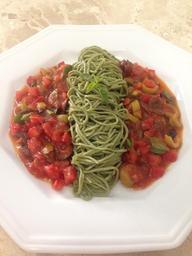 Spaghetti de Espinafre