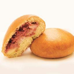 Pão de Batata com Calabresa